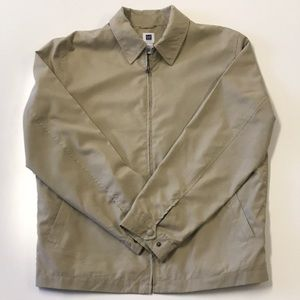 GAP Lightweight Spring Full Zip Jacket Tan